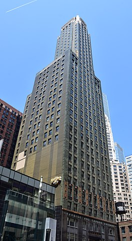 carbide and carbon building chicago
